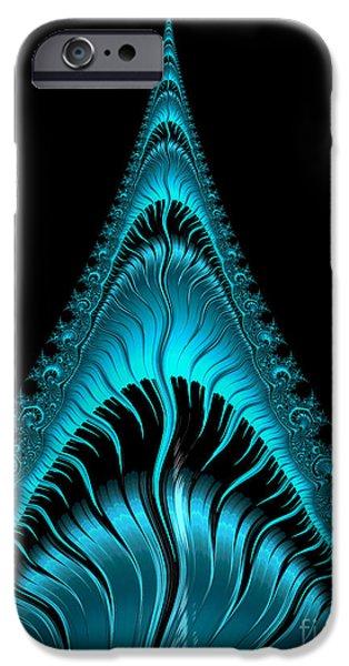 Shark Digital iPhone Cases - Shark iPhone Case by John Edwards