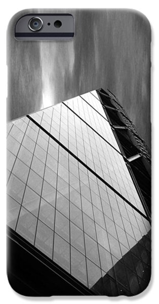 Canary iPhone Cases - Sharp Angles iPhone Case by Martin Newman