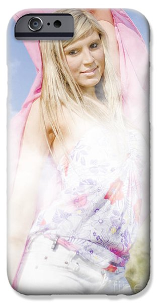 Mystifying iPhone Cases - She Moves In Mysterious Ways iPhone Case by Ryan Jorgensen