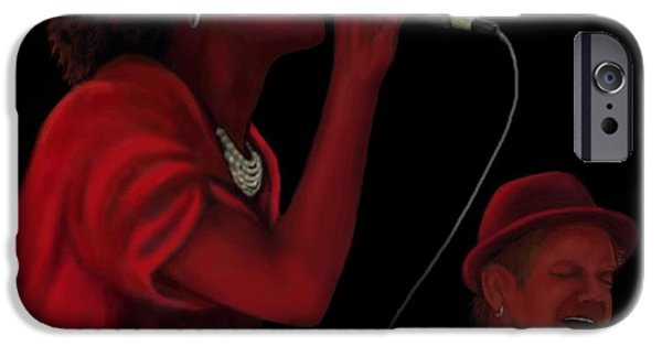 Piano iPhone Cases - Shea D Duo iPhone Case by Steve Knapp