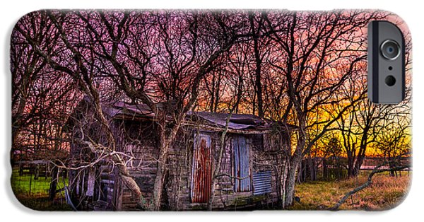 Recently Sold -  - Shed iPhone Cases - Shed and Sunset iPhone Case by Micah Goff