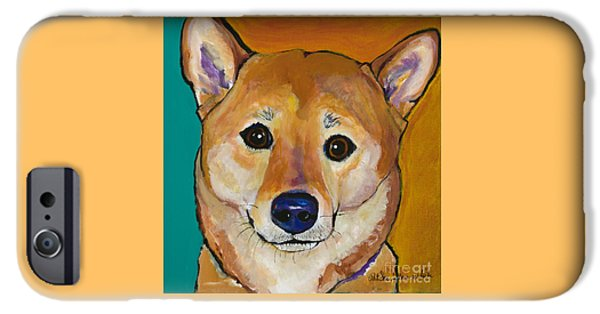 Dogs iPhone Cases - Sheila iPhone Case by Pat Saunders-White