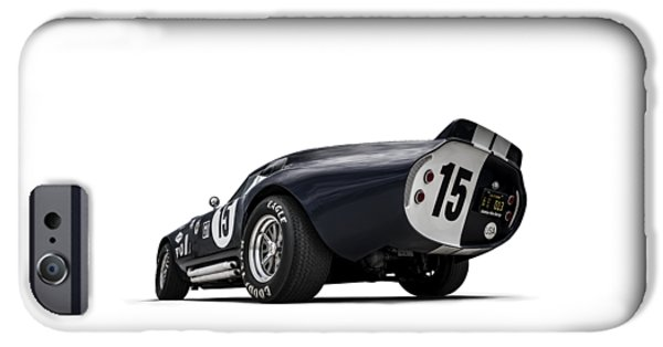 Sport Car iPhone Cases - Shelby Daytona iPhone Case by Douglas Pittman