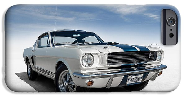 Carroll Shelby iPhone Cases - Shelby Mustang GT350 iPhone Case by Douglas Pittman