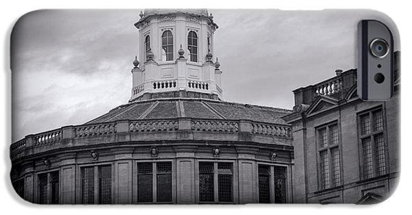 Building iPhone Cases - Sheldonian Theatre - Oxford iPhone Case by Stephen Stookey