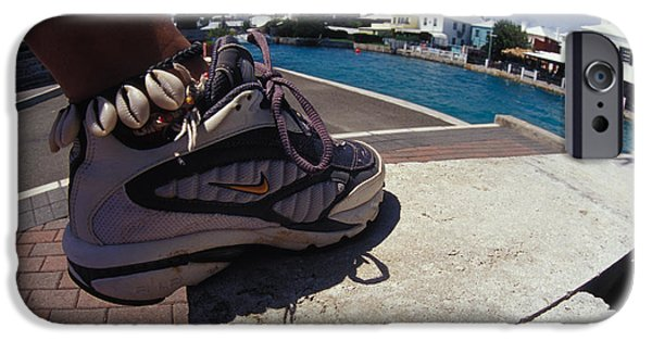 Nike Photographs iPhone Cases - Shell Ankle Bracelet iPhone Case by Carl Purcell