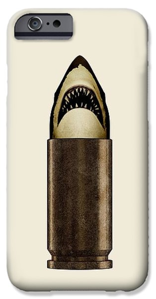 Buy iPhone Cases - Shell Shark iPhone Case by Nicholas Ely