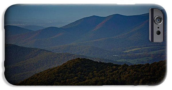 Best Sellers -  - Mist iPhone Cases - Shenandoah Valley at Sunset iPhone Case by Rick Berk