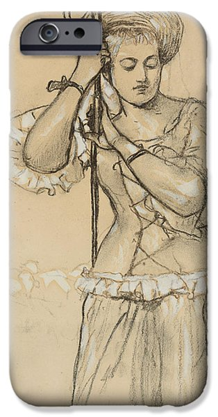 Implement iPhone Cases - Shepherdess iPhone Case by Winslow Homer