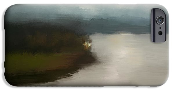 Tennessee River iPhone Cases - Shiloh River View iPhone Case by Jai Johnson