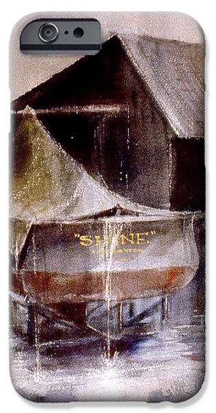 Rainy Day iPhone Cases - Shine iPhone Case by Jacob Krapowicz