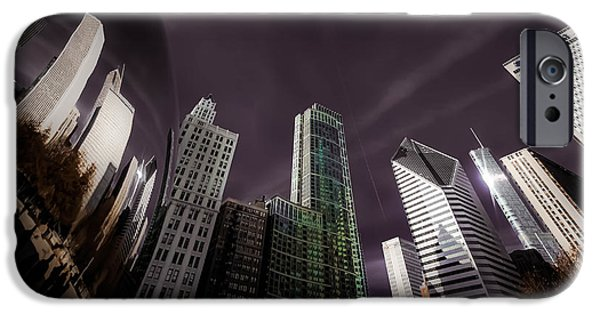 Michelle iPhone Cases - Shiny City iPhone Case by Michelle Saraswati