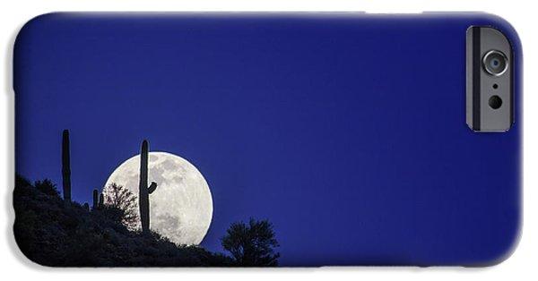 Stellar iPhone Cases - Shoot the Moon iPhone Case by Rick Furmanek