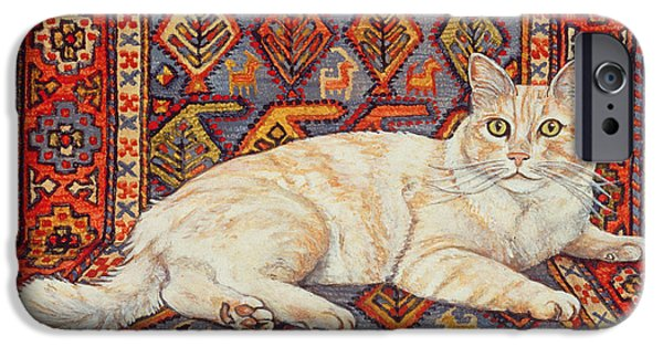 Persian Carpet iPhone Cases - Shortcake iPhone Case by Ditz