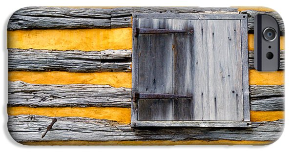 Cabin Window iPhone Cases - Shuttered Window iPhone Case by Paul W Faust -  Impressions of Light