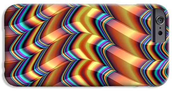 Fractal iPhone Cases - Shutters iPhone Case by John Edwards