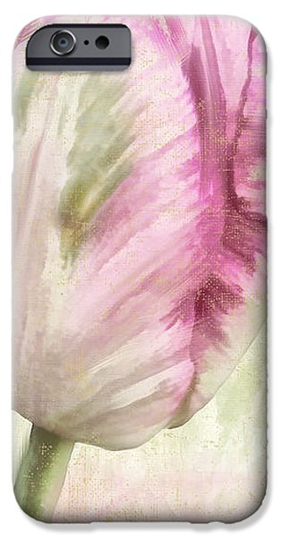 Botanical iPhone Cases - Shy II iPhone Case by Mindy Sommers