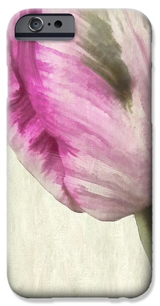 Fuschia iPhone Cases - Shy iPhone Case by Mindy Sommers