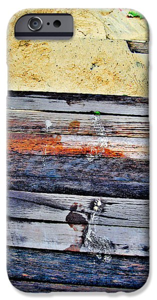 Allegoric iPhone Cases - SIAM Texture. The road to the sea iPhone Case by Andy Za