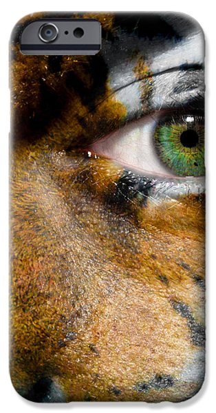 Siberian Man iPhone Case by Semmick Photo
