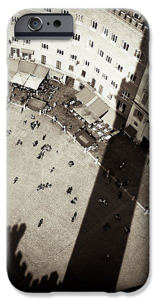 Siena from Above iPhone Case by Dave Bowman