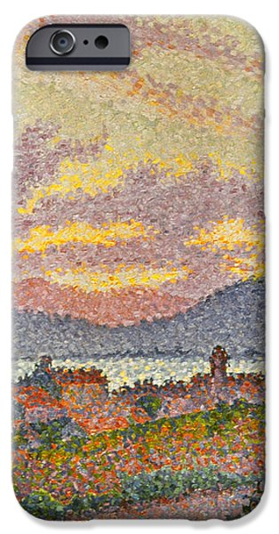 SIGNAC: ST TROPEZ, 1896 iPhone Case by Granger