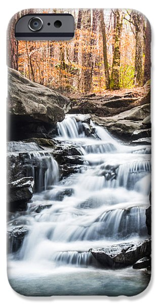 Recently Sold -  - Creek iPhone Cases - Signs of Spring at Moss Rock Preserve iPhone Case by Parker Cunningham
