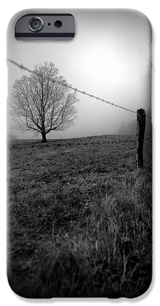 Mist iPhone Cases - Silence iPhone Case by Renee Sullivan