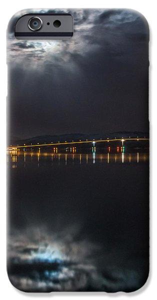 Norway Pyrography iPhone Cases - Silent night iPhone Case by Frantz Robert Konradsen
