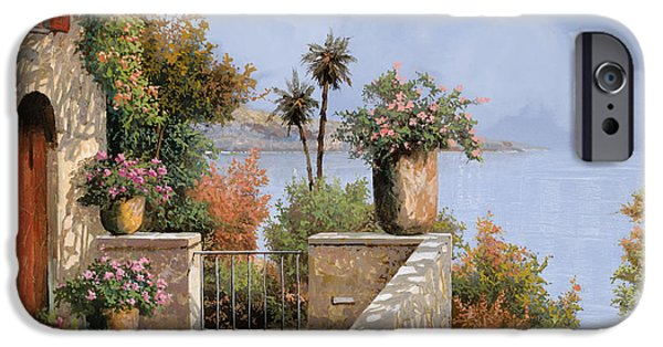 Door iPhone Cases - Silenzio iPhone Case by Guido Borelli