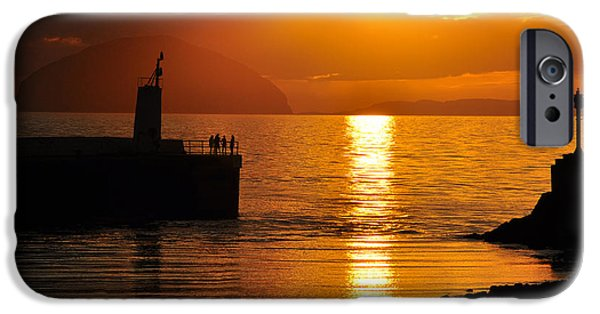 Silhoette iPhone Cases - Silhoettes in the Sun iPhone Case by Rory McAdam