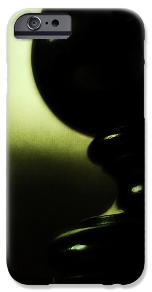 Silhouette iPhone Case by Rebecca Sherman