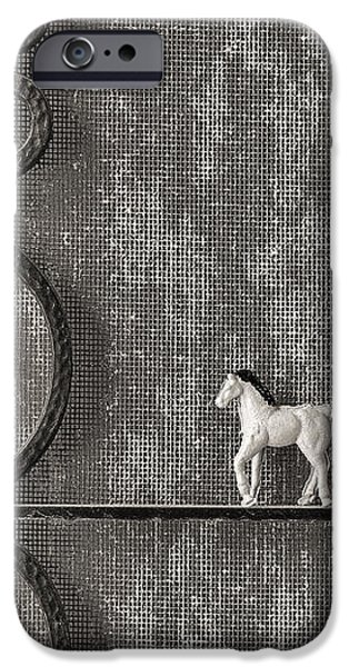Silver Nostalgia iPhone Case by Jeff  Gettis