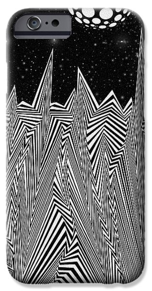 Virtual iPhone Cases - Silver Skies iPhone Case by Douglas Christian Larsen