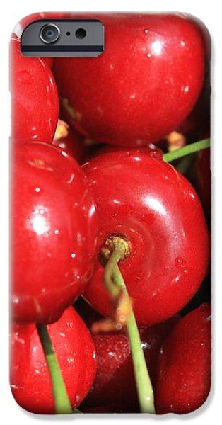 Simply Cherries  iPhone Case by Carol Groenen