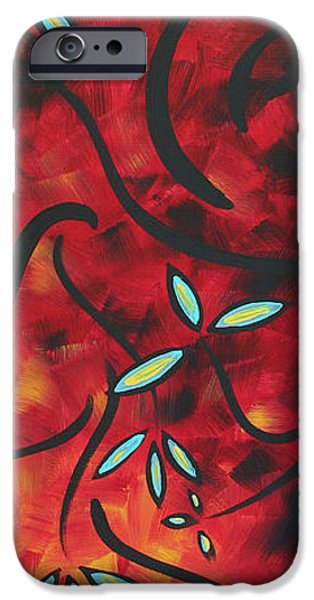 Simply Glorious 1 by MADART iPhone Case by Megan Duncanson