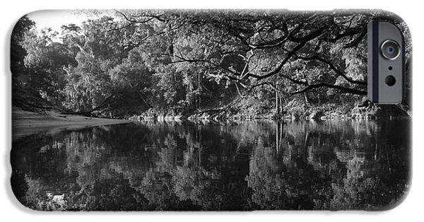 Monotone iPhone Cases - Simply Suwannee iPhone Case by Gina Welch
