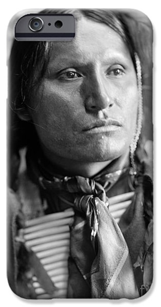 Breastplate iPhone Cases - SIOUX NATIVE AMERICAN, c1900 iPhone Case by Granger