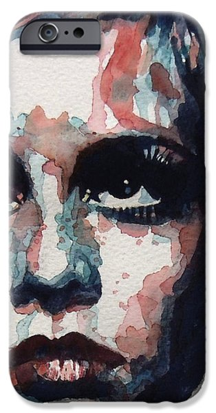 Sixties Sixties Sixties Twiggy iPhone Case by Paul Lovering