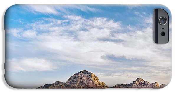 Sedona iPhone Cases - Skies Over Sedona iPhone Case by Aron Kearney Fine Art Photography