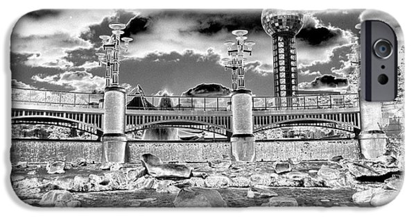 Infrared iPhone Cases - Sky Dome - SE1 iPhone Case by Paul W Faust -  Impressions of Light