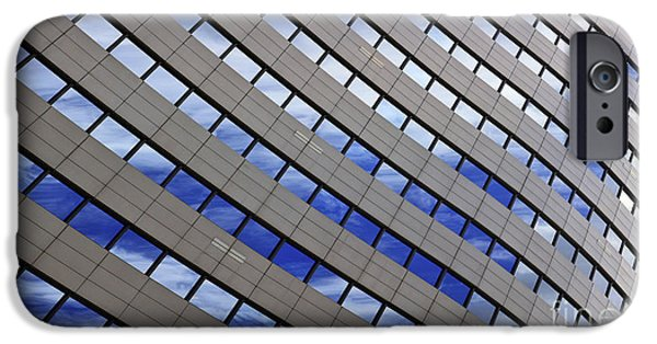 Structural iPhone Cases - Sky Reflections iPhone Case by Mike Reid