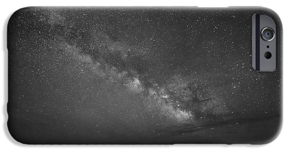 Michael iPhone Cases - Sky Walker BW iPhone Case by Michael Ver Sprill