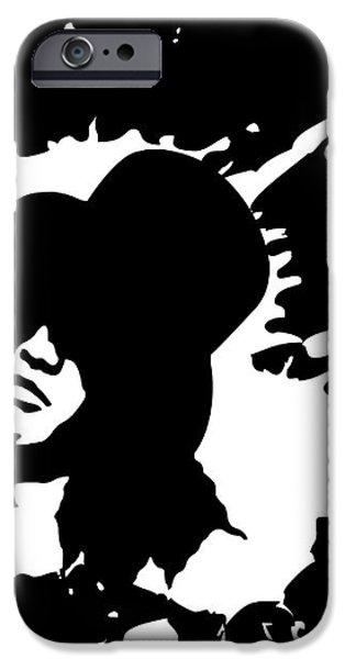 Slash N.01 iPhone Case by Caio Caldas
