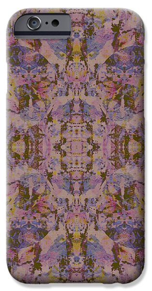 Kaleidoscopic Paintings iPhone Cases - Slick iPhone Case by Beth Travers
