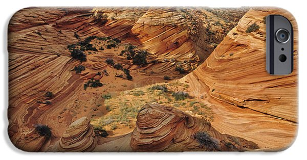 Slickrock iPhone Cases - Slickrock, Vermilion Cliffs, Usa iPhone Case by Frans Lanting/MINT Images