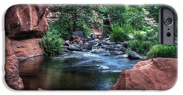 Sedona iPhone Cases - Slide Rock Beauty iPhone Case by Thomas  Todd