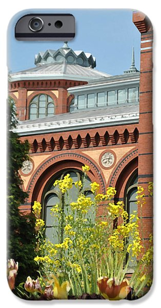 Smithsonian iPhone Cases - Smithsonian Bloom iPhone Case by Jost Houk