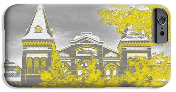 Smithsonian iPhone Cases - Smithsonian Chrome iPhone Case by Jost Houk