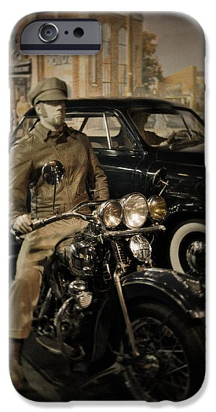 National Museum Of America History iPhone Cases - Smithsonian Institute Motorcycle iPhone Case by Kyle Hanson
